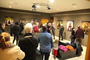 Exposició Josep Nicolau - Homenatge Puente  5-12-14 004